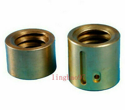 2pcsset Milling Machine Part Landscape Screw Y Axis Mobile Copper Nut Cnc Mill