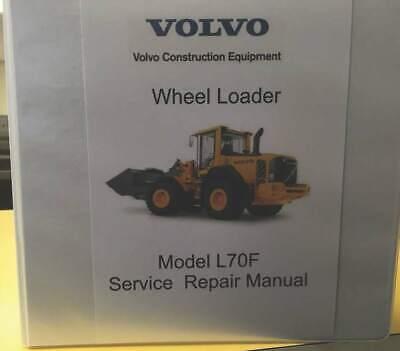 Volvo L70f Wheel Loader Workshop Manual