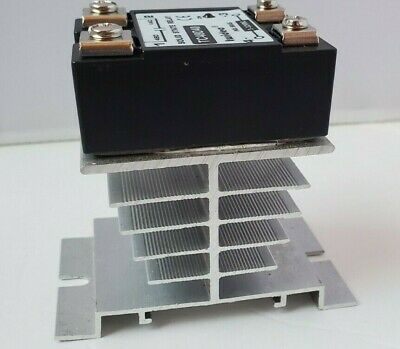 Twidec Tc48d40 40da 3-32v Dc0-480v Ac Single Phase Ssr Solid State Relay Heat