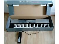 remote 61l midi keyboard