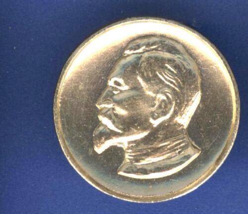 BOSS KGB FELIX DZERZHINSKY SECRET POLICE  SOVIET ORIGINAL pinback coin design