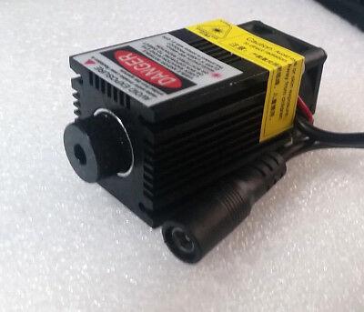 405nm 500mw Blue-violet 12v Laser Module Focusable Adjustable Engraving 2.1 Dc