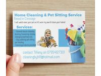 Private House cleaner / dog walker pet holiday sitter service shrewsbury shropshire cressage