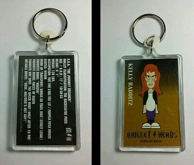 AS-IS MULLET HEADS JOURNEY DREAMER KELLY RADDITZ M/H KEYCHAIN KEY CHAIN AS-IS