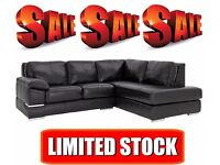 Bargains Galore - Huge Selection of Premium Leather - Fabric Sofas to Clear - Massive Savings