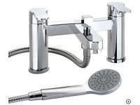 NEW Twyford X50 Deck Mounted Bath Shower Mixer Tap