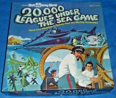 20,000 Leagues Under The Sea Game COMPLETE - Walt Disney World Vintage