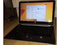 Refurbished Full size silver & black HP Windows 8.1 Laptop