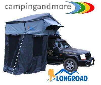 Auto Dachzelt LONGROAD Voyager  140 x 310 x 120 cm Autodachzelt mit Vorzelt neu gebraucht kaufen  Geldersheim