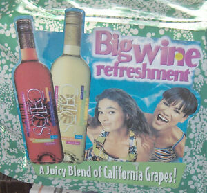 Soleo Big Wine Refreshment Sign  Colourful Tin Sign Belleville Belleville Area image 3