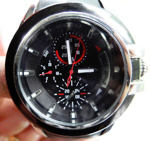 Guess Watch With Black Band