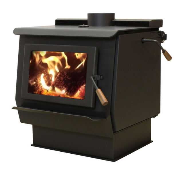how to operate a blaze king wood stove