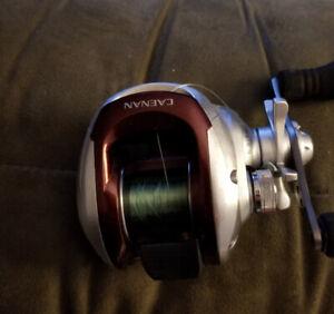 Shimano Caenan baitcaster fishing reel