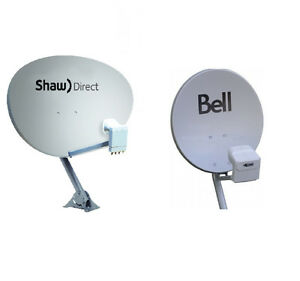 SHAW DIRECT/ TELUS/ BELL satellite dish INSTALLATION and REPAIR