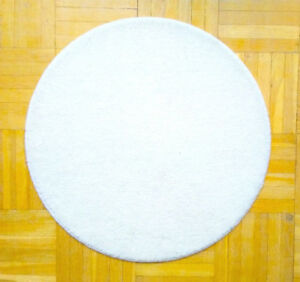 ***GREAT VALUE*** FS: IKEA WHITE CIRCULAR RINGUM RUG