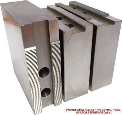 "KT-8400F Steel Soft Jaws For a 8/"" Chuck Kitagawa, Samchully ht=4/"" 3pc set"