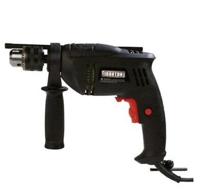 12 Corded Hammer Drill Driver Concrete Masonry Brick Tile Electric Power Tool