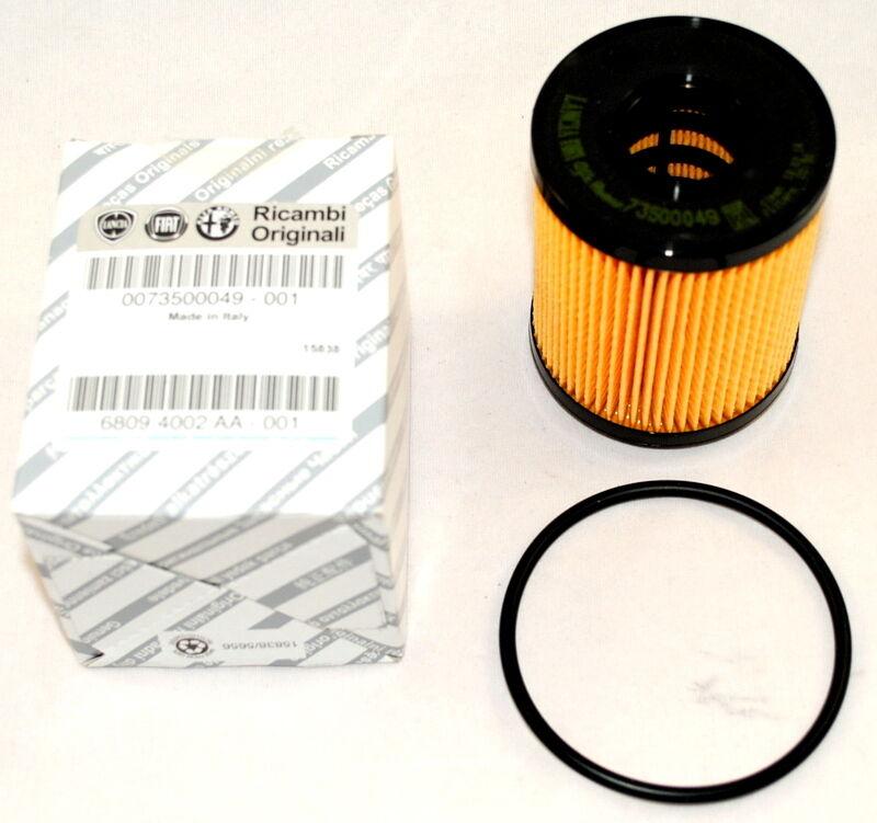 Original Fiat Grande Punto EVO Abarth Fiorino Qubo Ölfilter Filter Öl 73500049