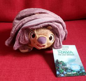Brand new with tags Disney Baby Tuk Tuk Small Soft Plush Toy - Raya an