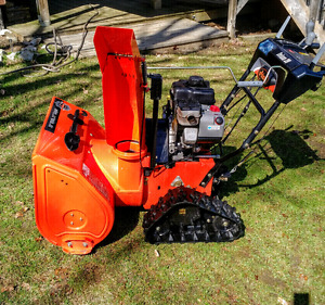 Ariens track driven snow blower