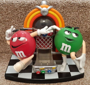 M & M's Candy Dispenser Dancing at the Jukebox Rare Collectible
