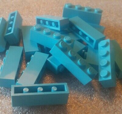 *NEW* Lego Medium Azur Aqua 1x4 Bricks - Lot Of 20 - 6036238