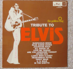 Golden Ring - Tribute to Elvis Presley - Vintage Vinyl LP