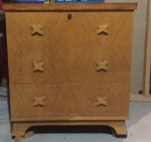 Antique Red Seal Cedar Chest for OBO