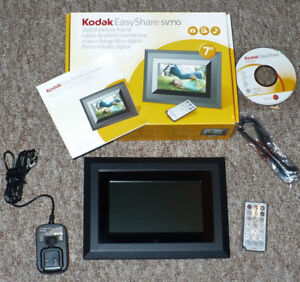 Digital Picture Frame Kodak Easyshare 7-Inch Like New