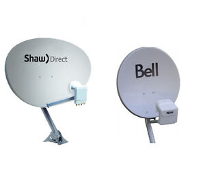 SHAW DIRECT / TELUS/ BELL satellite dish INSTALLATION and REPAIR