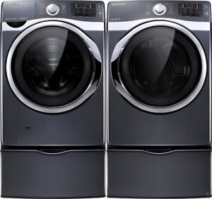 Samsung Washer/Dryer Combo With Pedestal Drawer