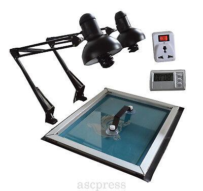 Silk Screen Printing Exposure Unit Max 20 X 24 Size Plate Making Uv Light Tool