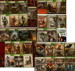 XBOX 360 Shooter games (Various Prices) '