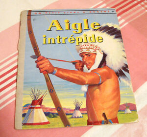 Livre Aigle intrépide 1958