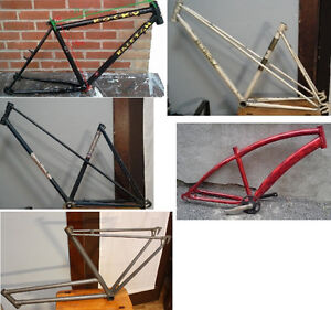 Cadre Frame : Cycle-du-Moulin, Raleigh , Single-speed, St-Tropez