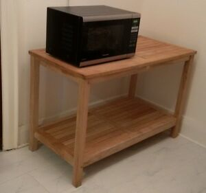 Kitchen Island table or microwave oven table