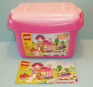 LEGO BASE no 4625, la PINK BRICK BOX