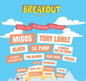 TWO DAY-1 BREAKOUT FESTIVAL TICKETS