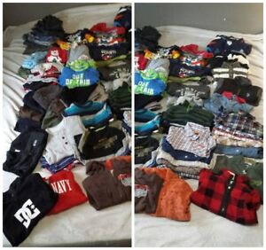 EUC to VGUC - HUGE LOT OF Size 3 Boys Fall & Winter clothes