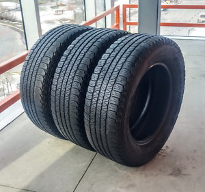 Set of 255/65/18 Goodyear all season tires