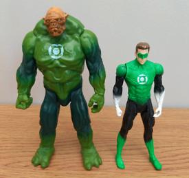 DC Green Lantern figures