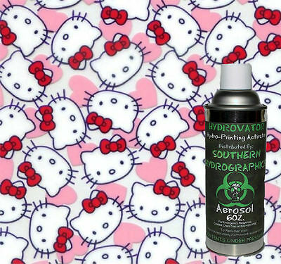 Hydrographic Film Water Transfer Hydro Dip 6oz. Activator Kitty Dip Kit