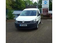 Volkswagen Caddy 2014 1.6TDI C20 Startline In White With One Owner & Low Miles