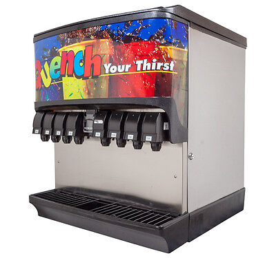 Soda Dispenser  8 Flavor Ice Beverage