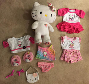 Build a Bear Bundle - Hello Kitty - Gently Played Condition