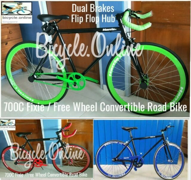 700C Fixies / Free Wheel Convertible Road Bike from $209. Brand new bicycle.
