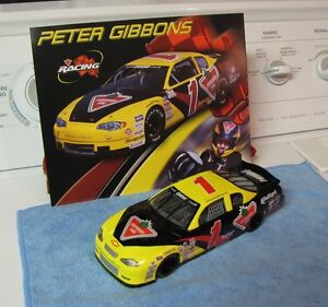 Peter Gibbons Race Car 1/18 scale. Comes with Stats Card. London Ontario image 2