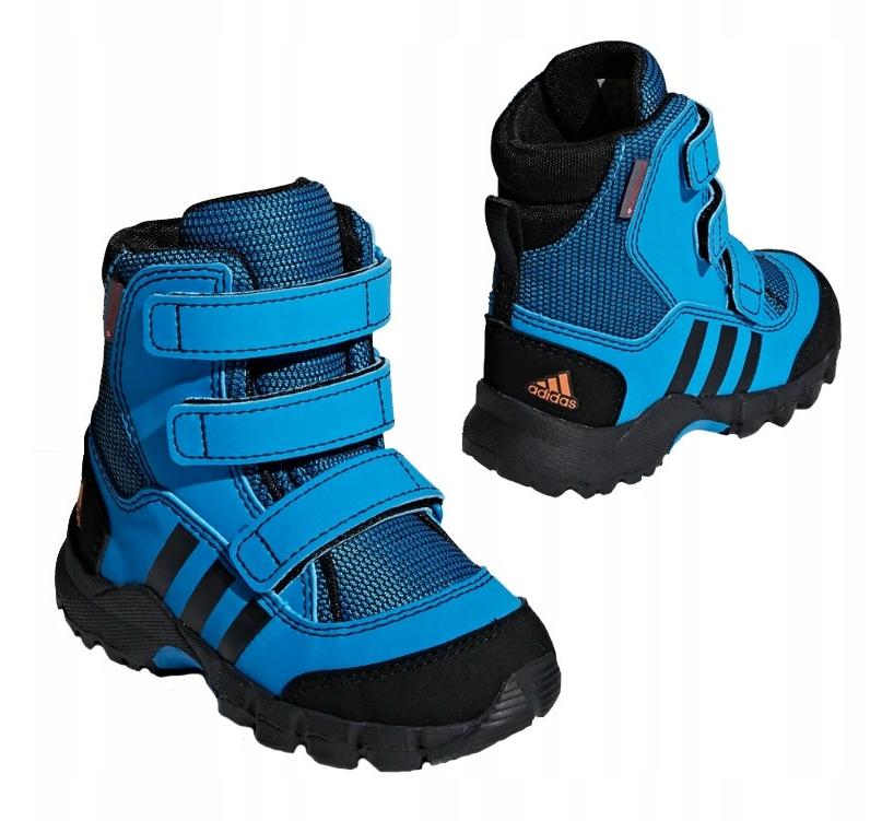 Original Adidas Holtanna Snow Blau Kinder Winterstiefel Schneestiefel Schuhe