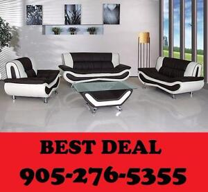 MODERN 4PCS SOFA SET ONLY $989.00 LOWEST PRICES GUARATNEED