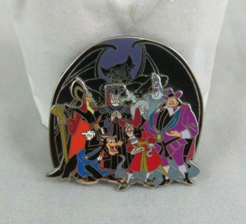 Disney Pin - Villains - Bad Boys - Chernabog / Hades / Hook / Jafar / Frollo